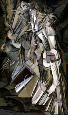 Duchamp Nude Descending a Staircase (No.2), 1912 The Philadelphia Museum of Art, Philadelphia