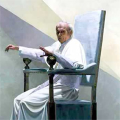 JOHN PAUL II (detail) (1982)